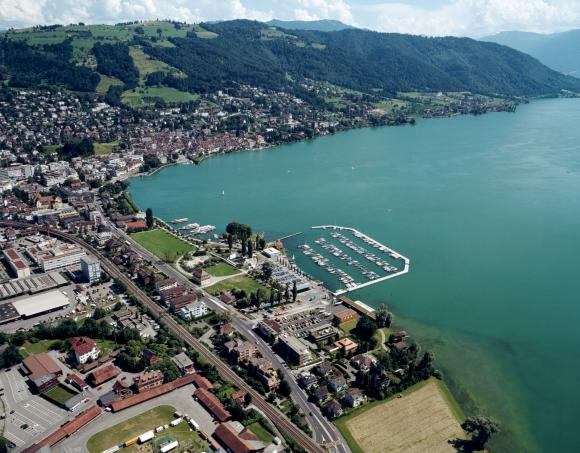 Flugansicht | Foto: Flying Camera, Zug